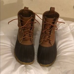 "LL Bean 8"" thinsulate boots"
